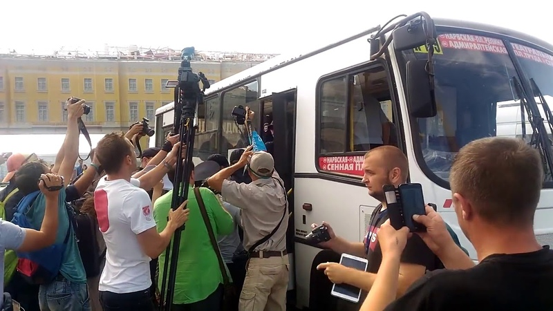 Видео задержаний на гей прайде лгбт в Санкт Петербурге 04.08.2018 - нарушения прав человека