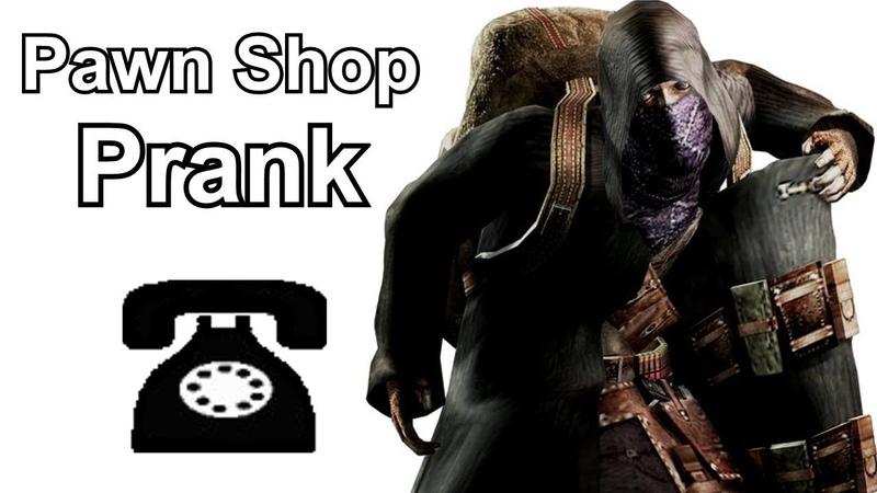 The Merchant Calls Pawn Shops - Resident Evil Prank Call