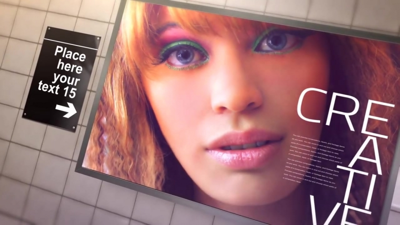 SUBWAY BACKLIGHTS – AFTER EFFECTS TEMPLATE (BLUEFX)
