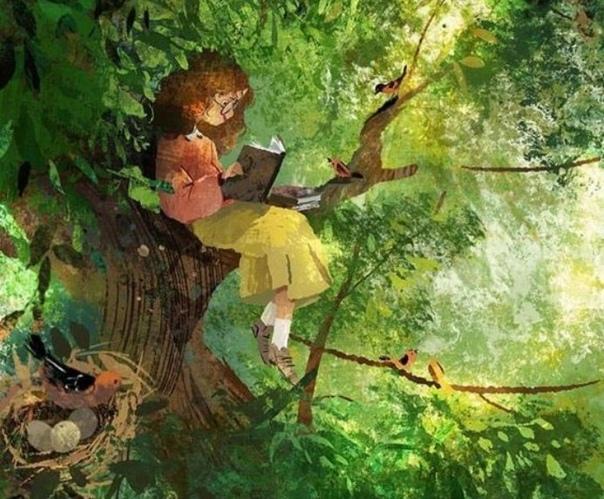 мэри и фея сентябрьский лес уже не звенел птичьими трелями, как летом, не пестрел цветами, а запах ягод сменился влажным ароматом пробудившихся грибниц. редкие ещё золотые листья глянцево