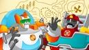 Мультик Трансформеры Боты Спасатели - Мультфильм Трансформеры Боты Спасатели. Привет пиратам