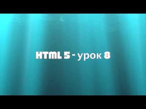 HTML5 урок 8 | Блочные и строчные элементы div span
