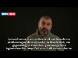 """Philipp Ekosjanz """"Eine Ansprache an das deutsche Volk!"""""""