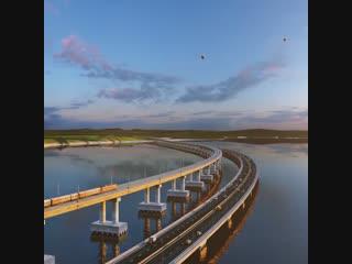 Последняя опора Крымского моста