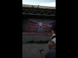 Концерт в Дзержинском районе.Песня Михаила Шабашова-Остался вечно молодым!