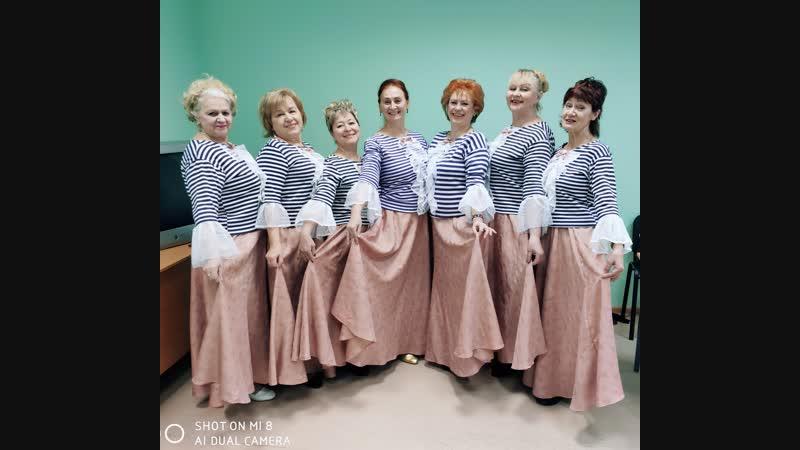 Премьера танца Менуэт, мои воспитанницы