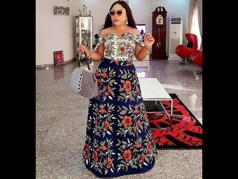 Modern African Print Dresses 2018: Unique, Beautiful And Trendy African Print Dresses And Styles
