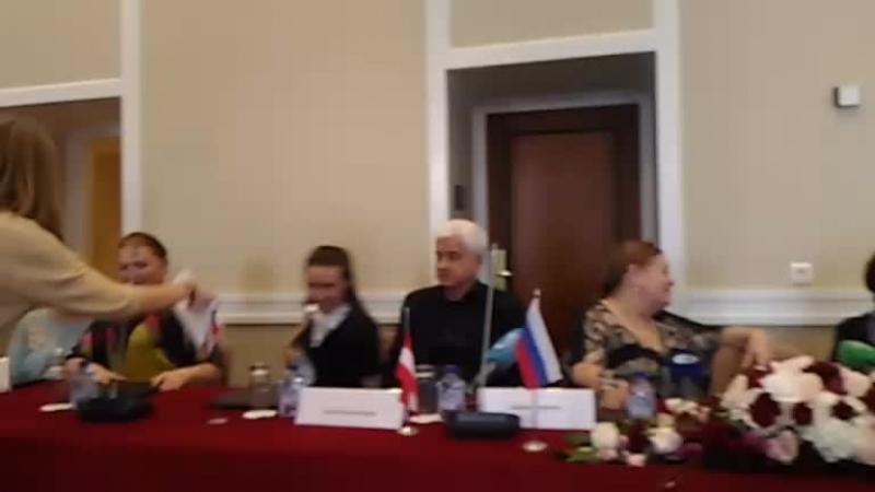 Пресс конференция посвященная VII Международного конкурса юных вокалистов Елены Образцовой