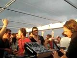 Sascha Funke @ BPITCH Control Boat Sonar 2010 Barcelona Sundown