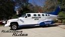 Genius Car Designer Builds 32ft Long 'Plane Car'   RIDICULOUS RIDES
