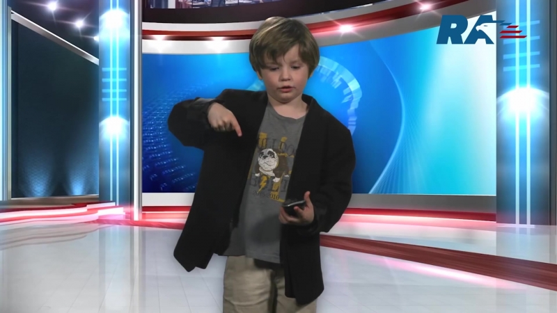 A boy from Tennessee recorded a video weather forecast for a kindergarten that beat YouTube records