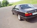 BMW E32- test of the young owner after purchase