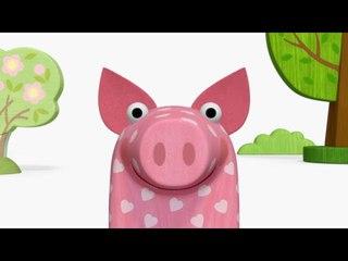 Деревяшки - Простуда - серия 26 - развивающие мультики для самых маленьких