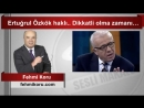 (6) Fehmi Koru Ertuğrul Özkök haklı Dikkatli olma zamanı… - YouTube