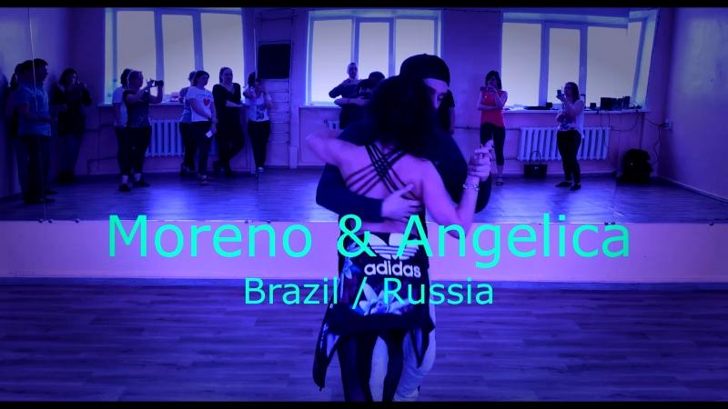 Moreno Zanandré Angelica Snopkova Brazilian ZOUK BRAZILRUSSIA