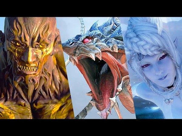 Final Fantasy XV All Summons Cutscenes Fights