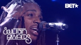 Jacquees Serenades The Crowd With B.E.D And You Soul Train Awards 2018