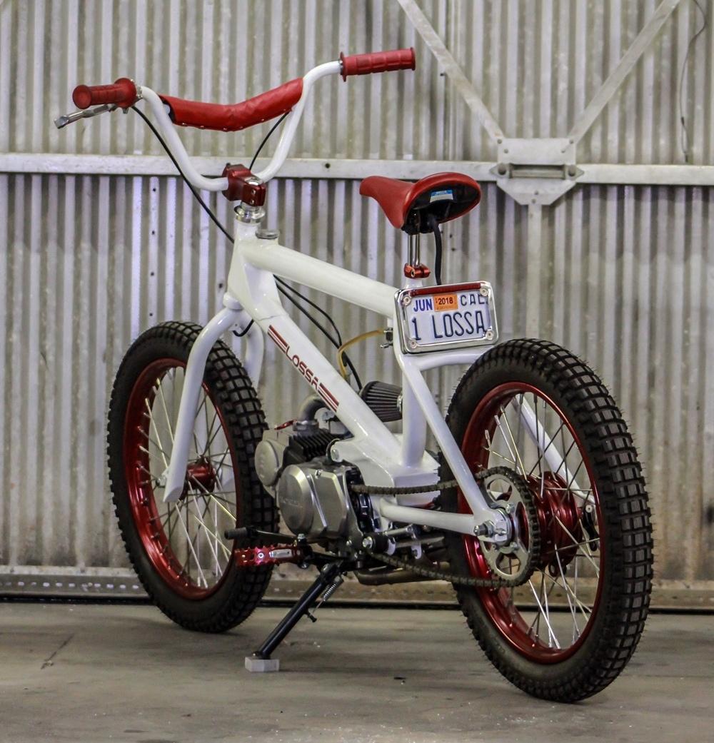 Lossa Engineering: кастом-мопед Redline x Honda CT90 BMX