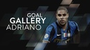 ADRIANO LEITE RIBEIRO | All of his 74 Inter goals ⚽️⚫️🔵