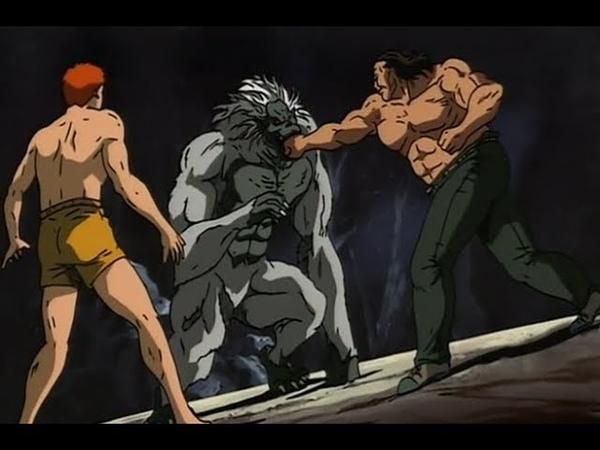 Baki and Ando vs Yasha Ape 💥