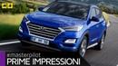 Hyundai Tucson 2019 restyling TEST 2 0 diesel ibrida ENGLISH SUB