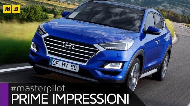 Hyundai Tucson 2019 restyling | TEST 2.0 diesel ibrida [ENGLISH SUB]