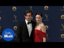 Radiant in red Rachel Brosnahan stuns at 2018 Emmys red carpet