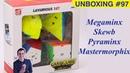Unboxing №97 QiYi set Pyraminx Mastermorphix Skewb Megaminx VS Cubing Classroom set
