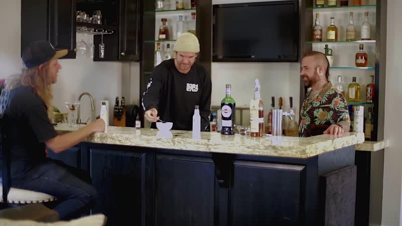 Drinks with Johnny featuring The Dirty Heads
