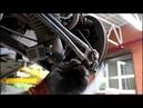 Замена задней правой стойки на АУДИ Q7 2008 AUDI Q7 3,0 дизель