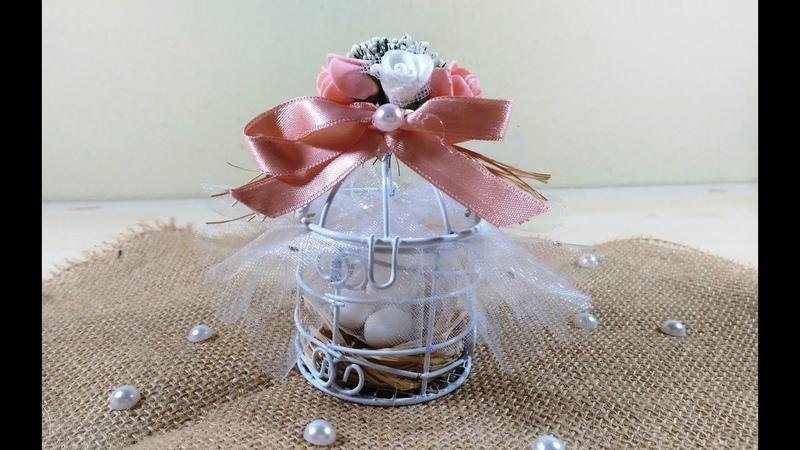 Cage Decorations Wedding Gifts, Düğün Hediyeliği Kafes Süsleme
