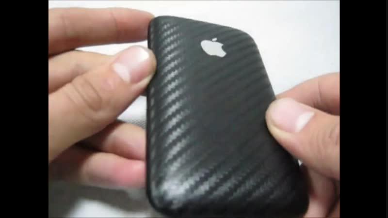 MAD SCIENCE 1 серия Iphone 3G Carbon Обзор Айфона в Карбоновой Плёнке