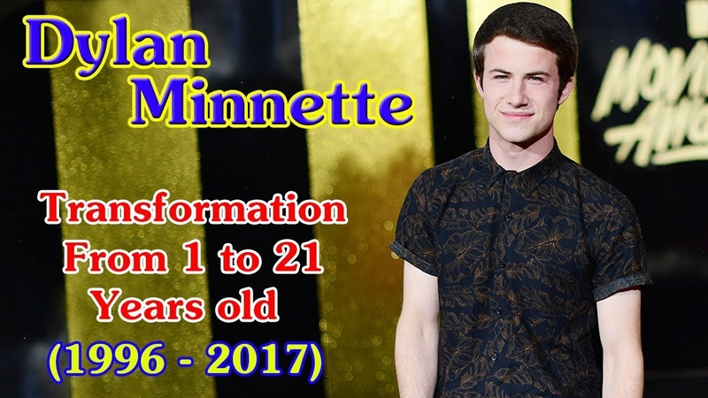 Dylan Minnette transformation from 1 to 21 years old
