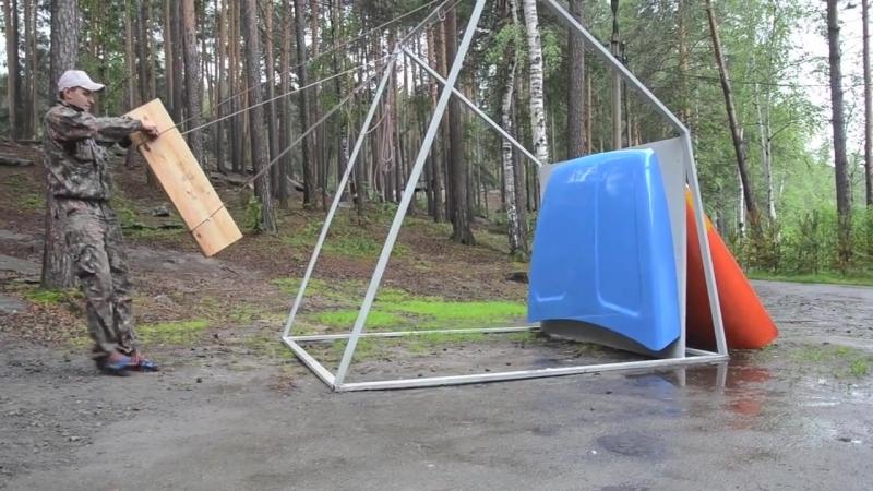 Урал NEXT, испытание пластикового капота