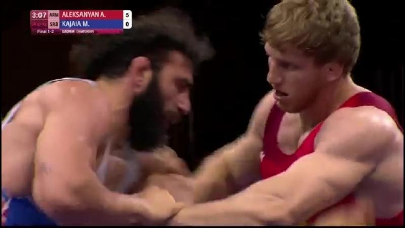 Каспийск-2018: Артур Алексанян (Армения) - Микель Каджая (Сербия)