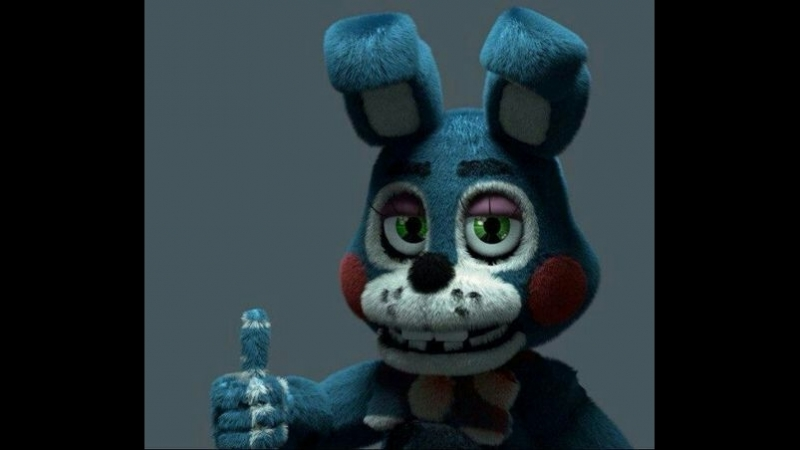 Делаем маску Бонни из 5 Ночей с Фредди-Make a mask from Bonnie 5 Nights at Freddy