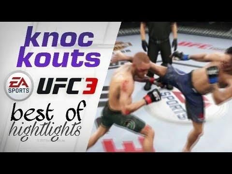 EA Sports UFC 3 - Best Knockouts