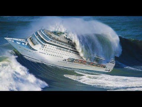 Azərbaycanlı dənizçi Atlantik okeanında inanılmaz video