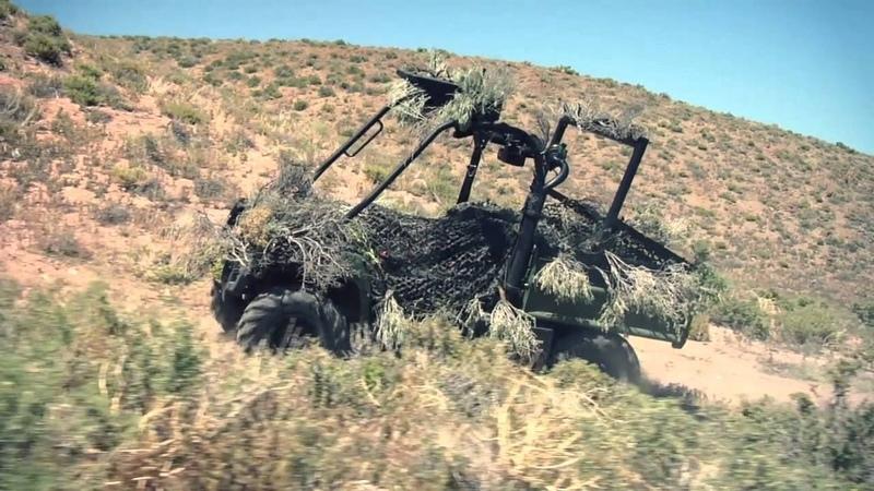 John Deere R Gator Military Vehicle HD