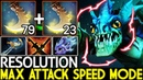 Resolution [Slark] Max Attack Speed Mode 360 AGI Cancer Gameplay 7.20 Dota 2