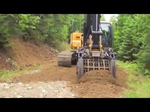 Multi-Function Excavator Attachment XHand - Road Building