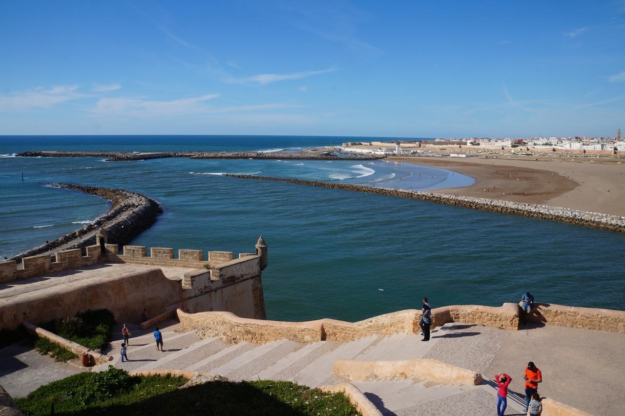 Касба Удайя - крепость Рабата крепости, крепость, Марокко, Удайя, Крепость, город, очень, берегу, Касба, будут, площадка, Андалусский, месте, стеной, вокруг, кладбища, также, Рабат, Рабата, большая