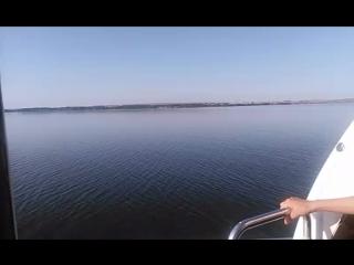 Устье реки Камы. Возвращение на Метеоре в Казань