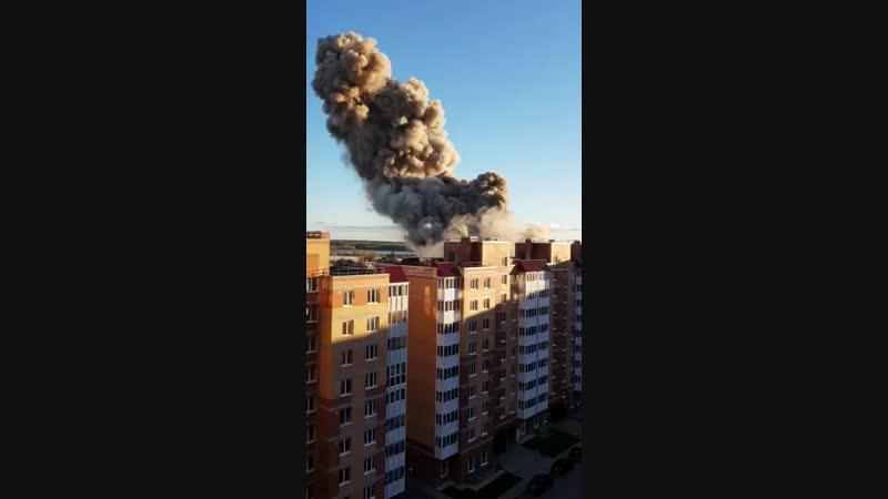 Взрыв под Петербургом