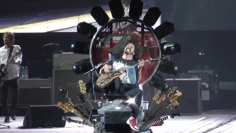 Foo Fighters - Tauron Arena Krakow, Krakow, Poland (09/11/2015)