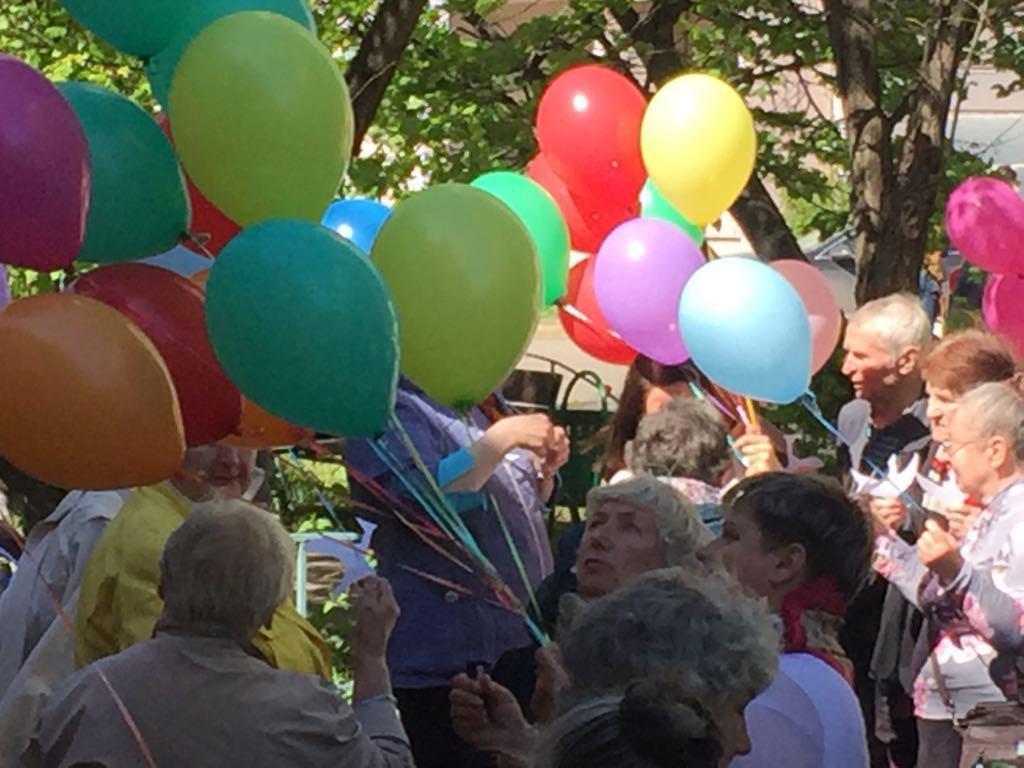Акция «Журавли моей памяти» прошла в ТЦСО «Ховрино»