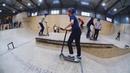 трюки на самокате в скейтпарке ksspark 20190112