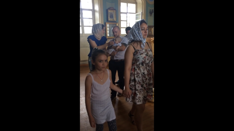Крещения ⛪️⛪️ в трифоновском монастыре 27 07 2018