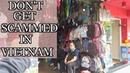 SCAMS IN VIETNAM TO AVOID Shopping in the Old Quarter Hanoi Vietnam