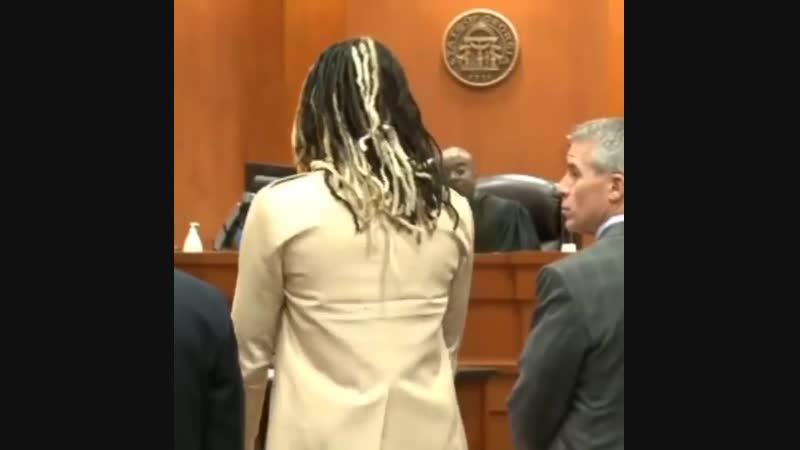 Young Thug в зале суда